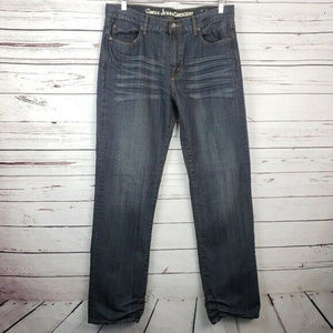 Guess Crescent Size 34 Men's Jeans Denim Straight